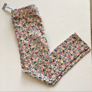 🌺 Carters Floral Stretchy Cotton Pants NWT 🌺